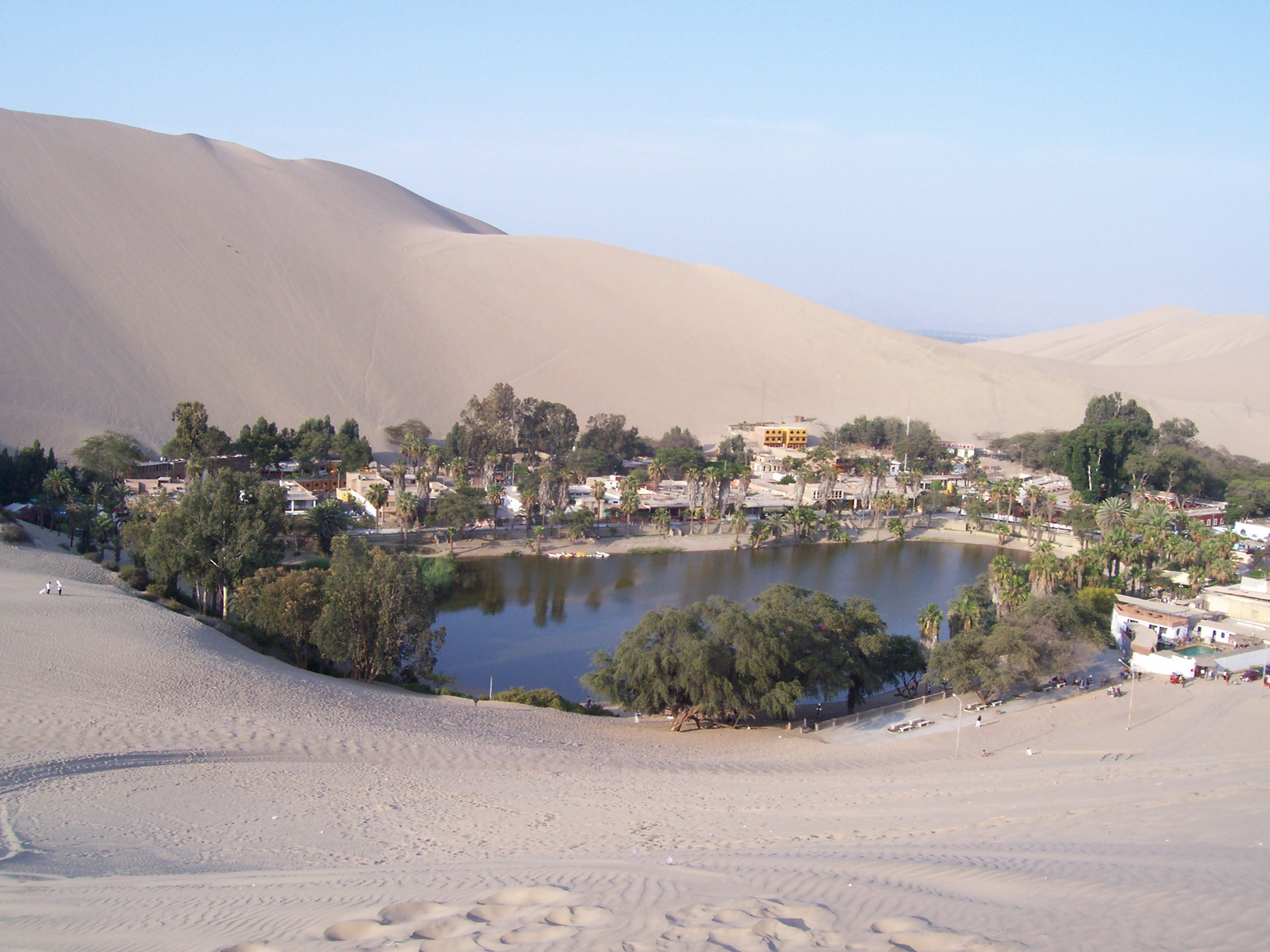 El oasis | Pluges, plugims i ruixats Oasis Geography