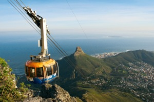 Teleferico a Table Mountain