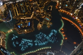 Vistas desde At The Top. Burj Khalifa